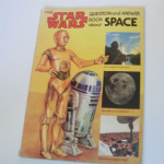 Star Wars Question and Answer Book About Space 1979 soft back book @Sold@